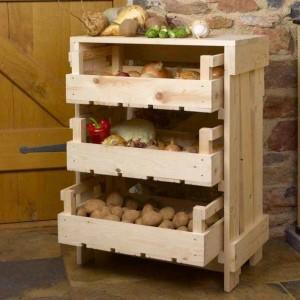 хранение овощей зимой дома