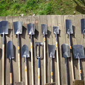 набор лопат