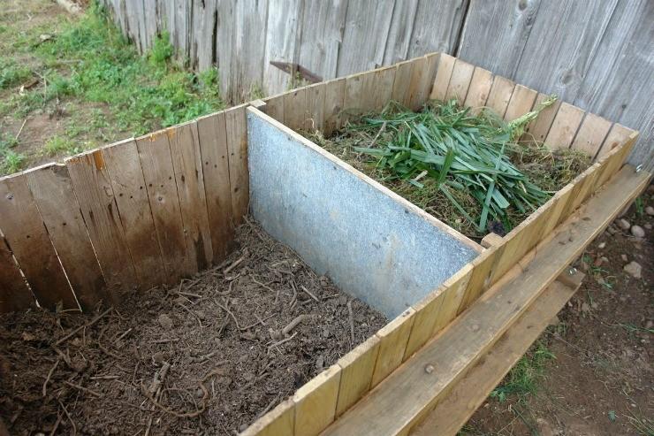 компостные ящики с компостом