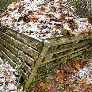 компостник зимой
