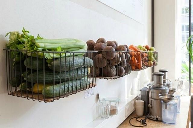 вариант хранения овощей в квартире