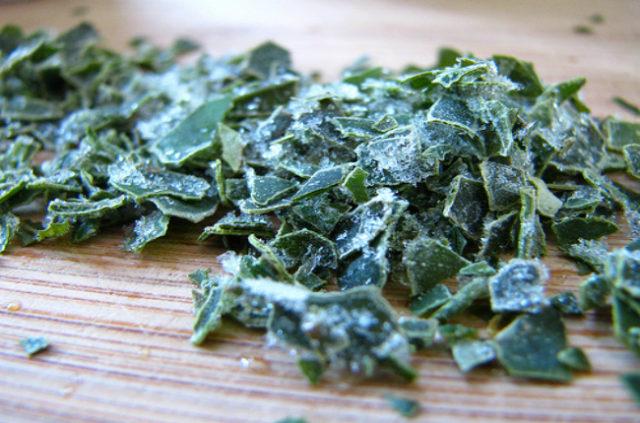 замороженная зелень