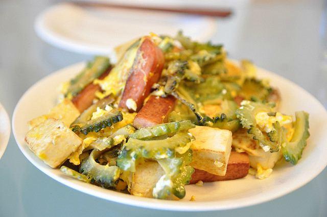 овощное рагу с момордикой