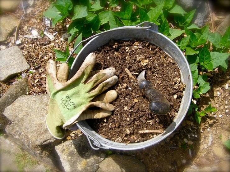 удобрение компост