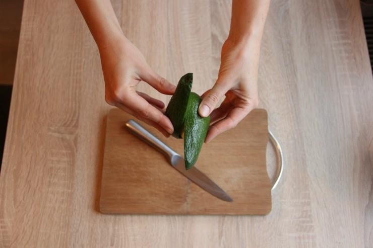 разделка авокадо в домашних условиях