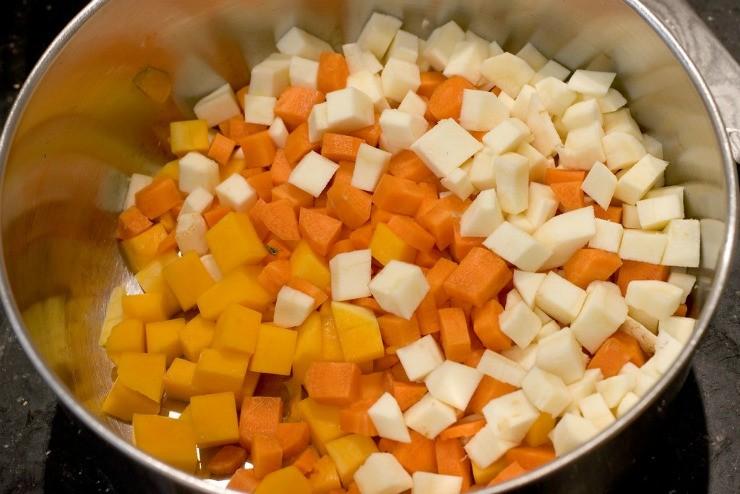рагу из пастернака и моркови