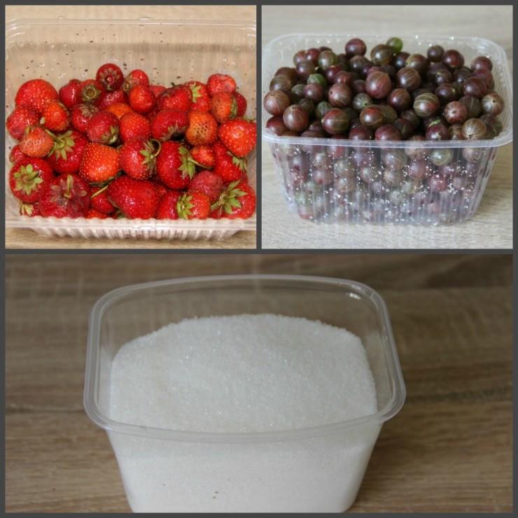 продукты для конфитюра из смородины и земляники
